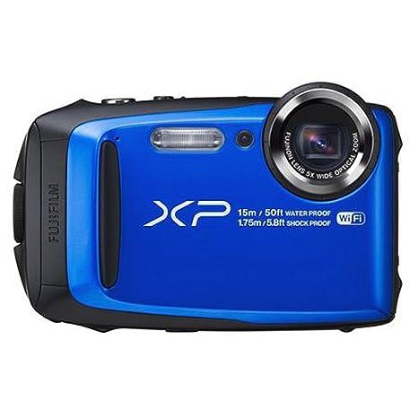 amazon com fujifilm finepix xp95 waterproof digital camera blue rh amazon com Fujifilm XP50 Waterproof Camera Fujifilm FinePix XP 50 Manual