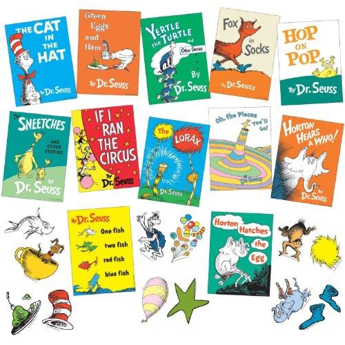 Dr. Seuss Books Mini Bulletin Board Set (Hat Bulletin Board)