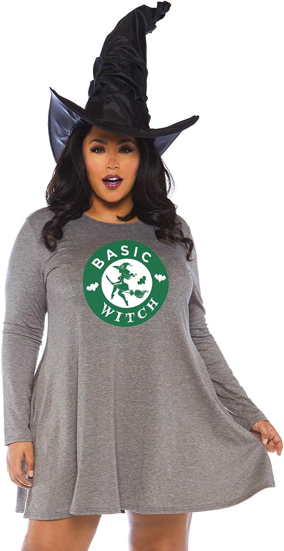 Leg Avenue Women's Casual Halloween Costume Jersey Shirt Dress