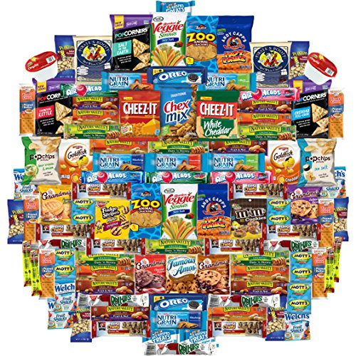 Ultimate Care Package Assortment Gift Box (100 Count) (Birthday Breakfast Ideas For Boyfriend)