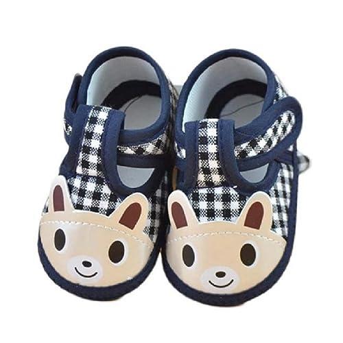 Regalo Bautizo Niño, Zolimx 💕 Recién Nacido Niña Chico Suave Cuna Reborn Zapatos Zapatillas de Lona