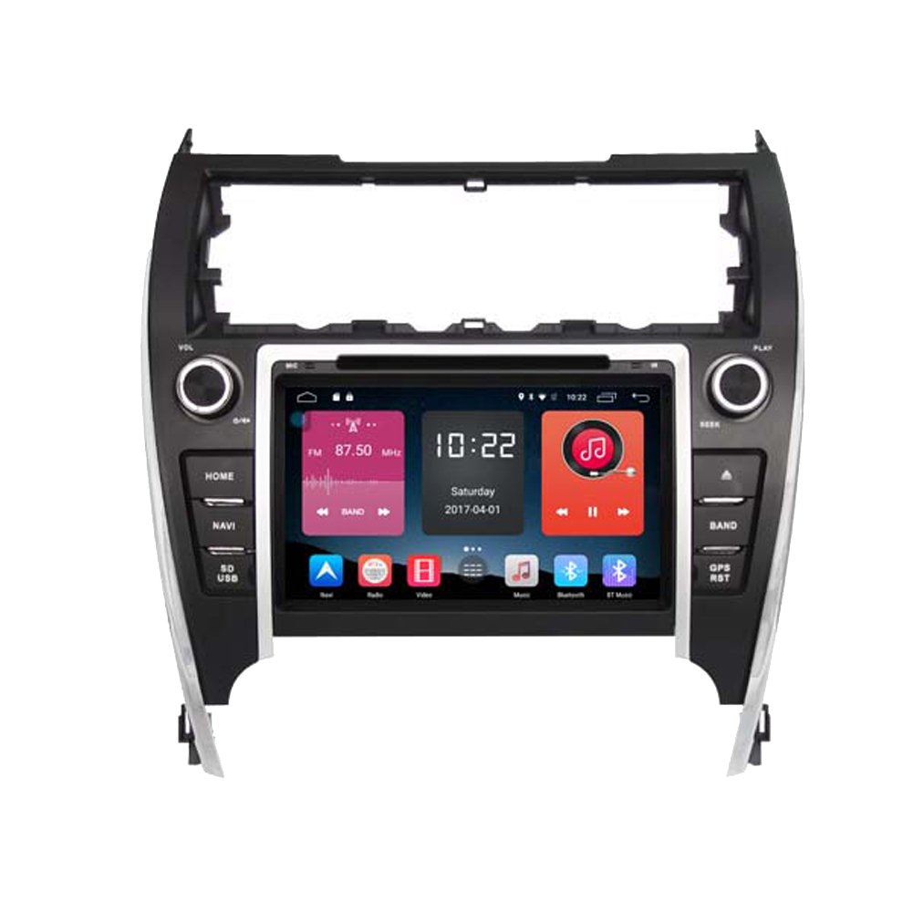 Autosion In Dash Android 6.0 Car DVD Player Sat Nav Radio Head Unit GPS Navigation Stereo for Toyota Camry 2012 2013 2014 2015 Support Bluetooth SD USB Radio OBD WIFI DVR 1080P