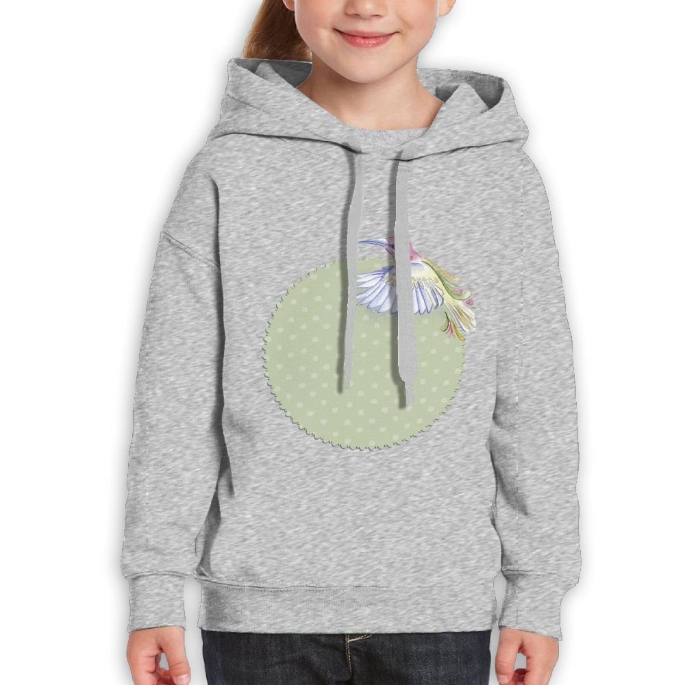 GLSEY Three Bird Summer Pattern Youth Soft Casual Long-Sleeved Hoodies Sweatshirts