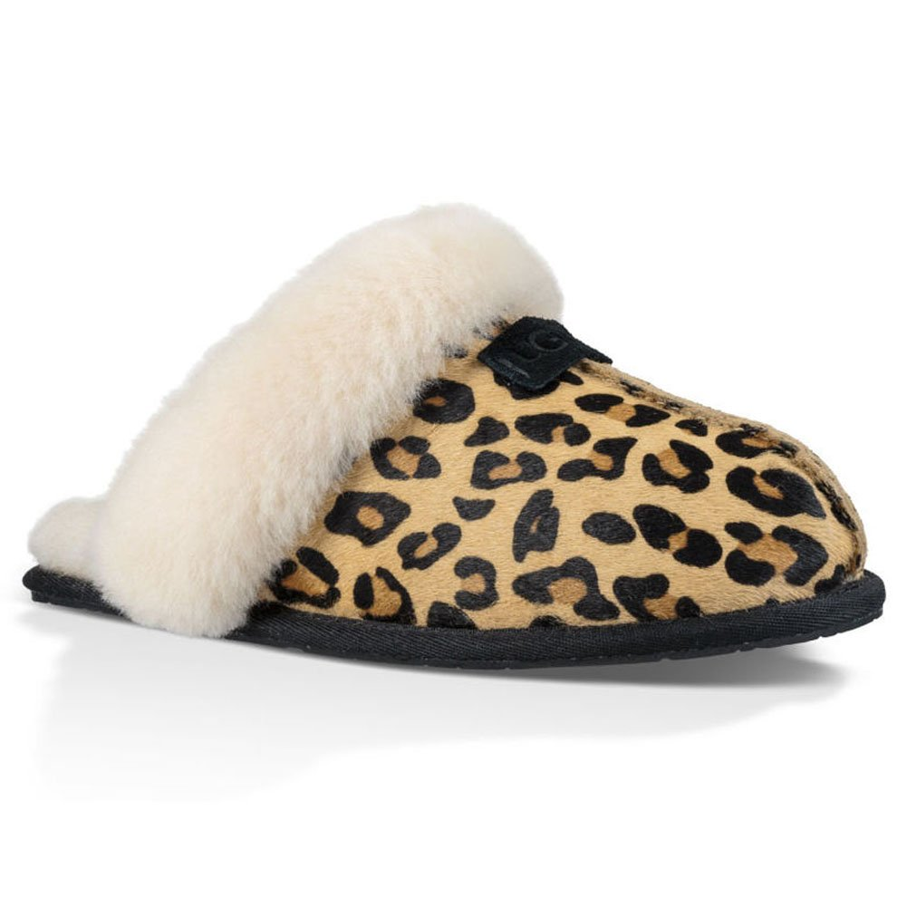 aa37fe18ad3 Ugg SCUFFETTE II CALF HAIR 2017 leopard: Amazon.co.uk: Sports & Outdoors