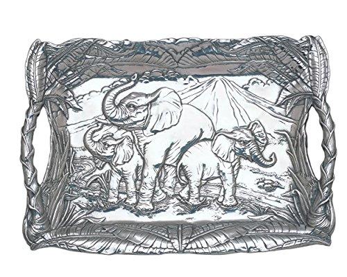 Arthur Court Designs Aluminum Elephant 20.5