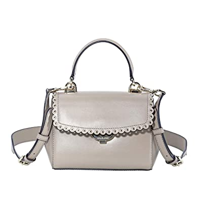 2f7ce5d40f52 Image Unavailable. Image not available for. Color: Michael Kors XS Leather  Crossbody- Truffle