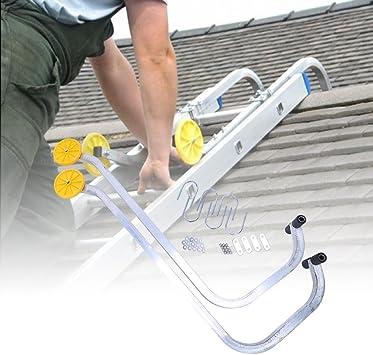 Vipeco - Gancho de escalera con dos ganchos para ruedas (desmontable): Amazon.es: Bricolaje y herramientas