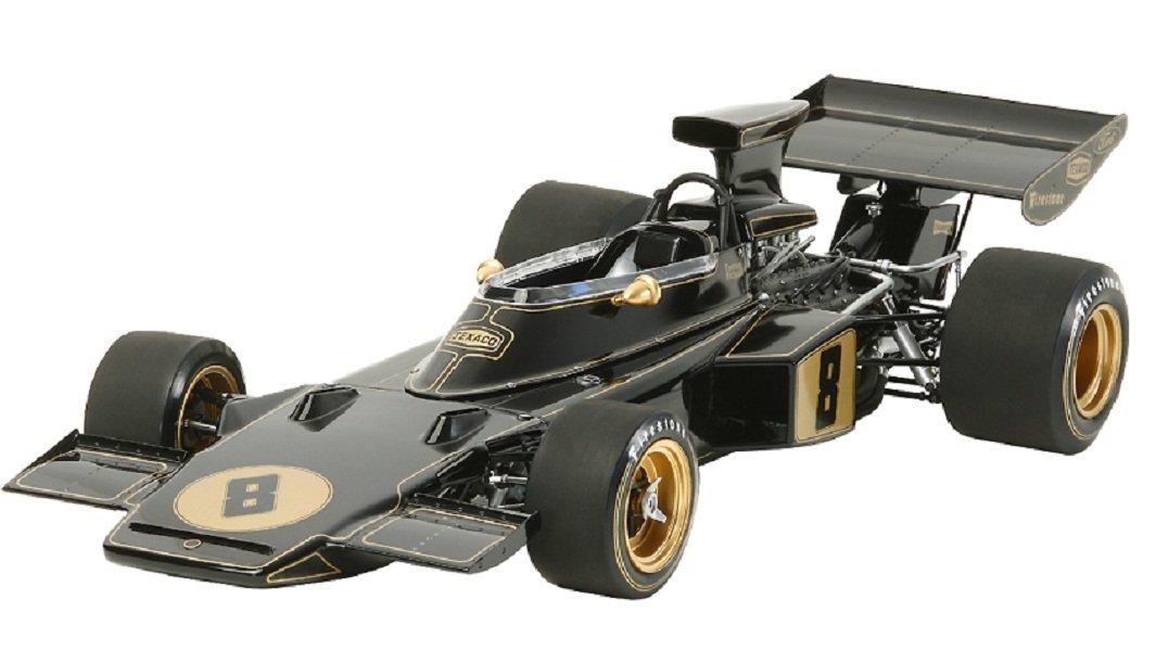 TAMIYA 300012046 - 1:12 Team Lotus Type 72D 1972 mit PE-Teile
