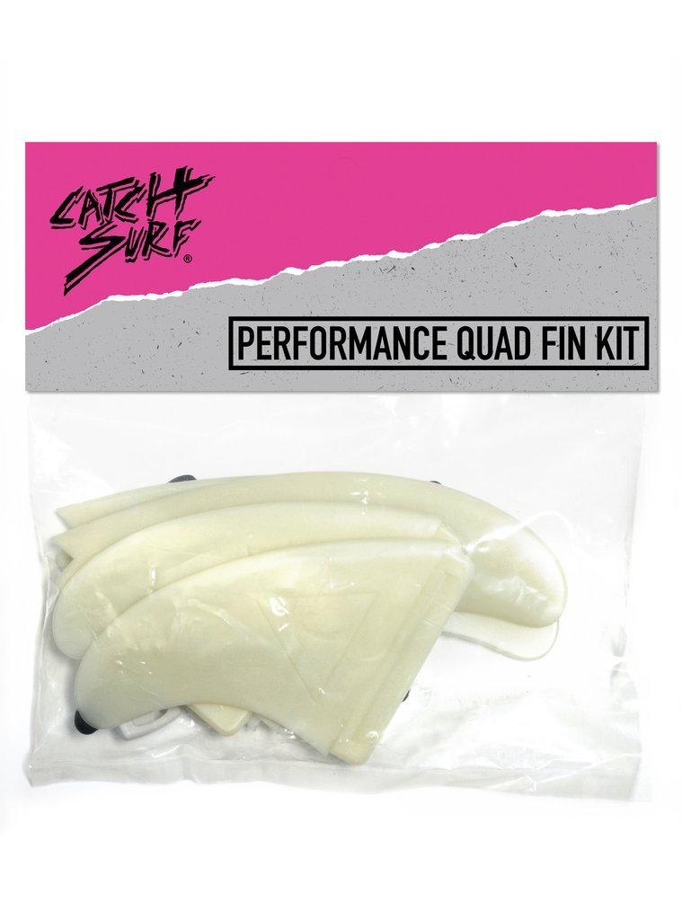Catch Surf Hi-Perf Quad Fin Set, Natural