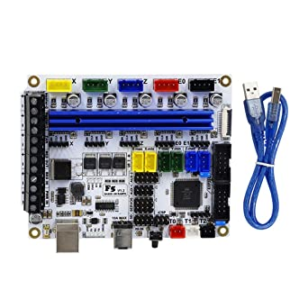 Amazon com: Zamtac F5 V1 2 PCB 3D Printer Motherboard Compatible