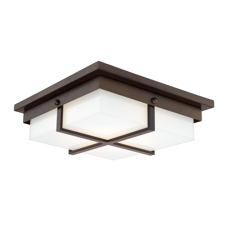 Amazon.com: CAPITAL iluminación 213912-ld Capital Techos 1 ...