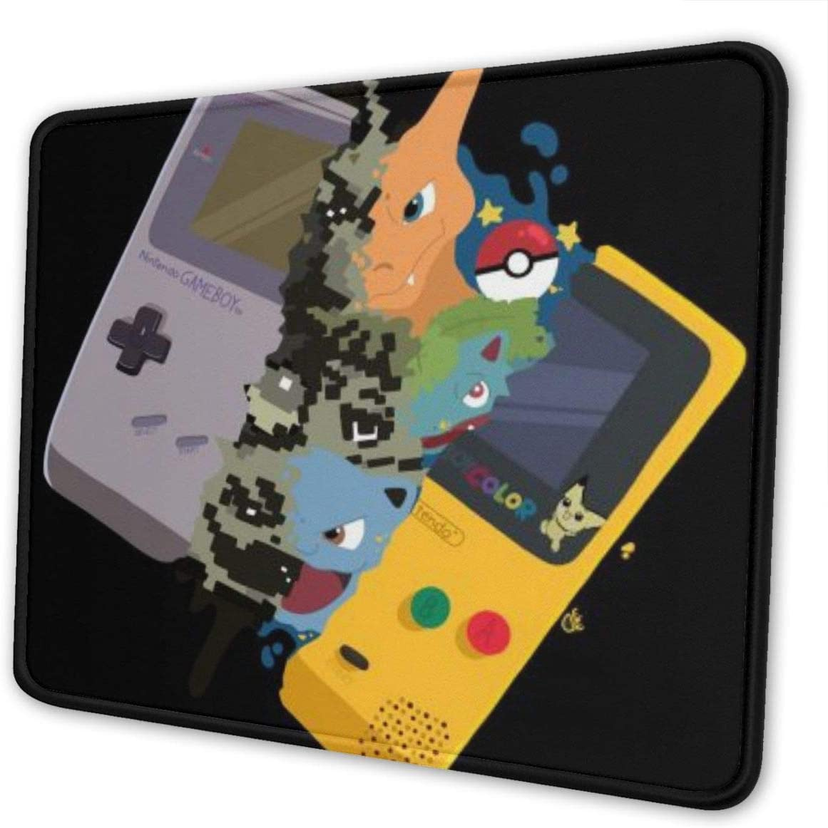 Charizard and Blastoise Rectangle Non-Slip Rubber Mousepad Gaming Mouse Pad 7 X 8.6 in