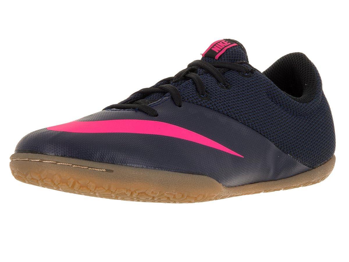 promo code 8c8cb 3a565 Amazon.com   Nike Kids Jr MercurialX Pro Ic Mid Navy Mid Navy Pink BLST RCR  B Indoor Soccer Shoe 1.5   Shoes
