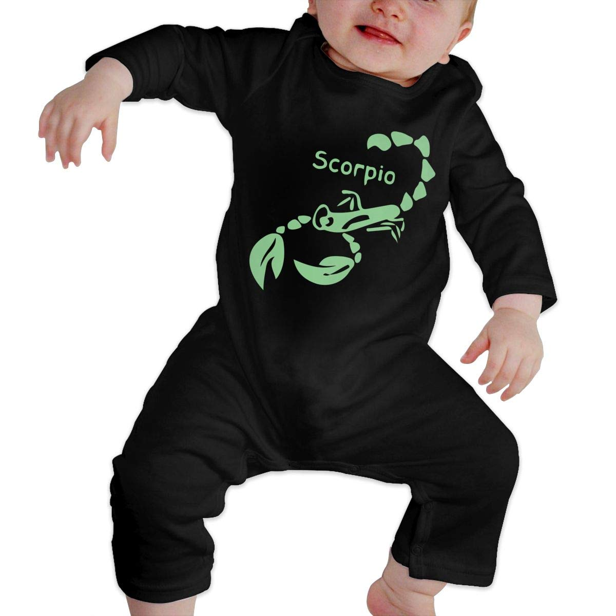Fasenix Symbols Scorpio Newborn Baby Bodysuit Long Sleeve Overalls Outfits Clothes Romper Jumpsuit for Baby Boy Girl