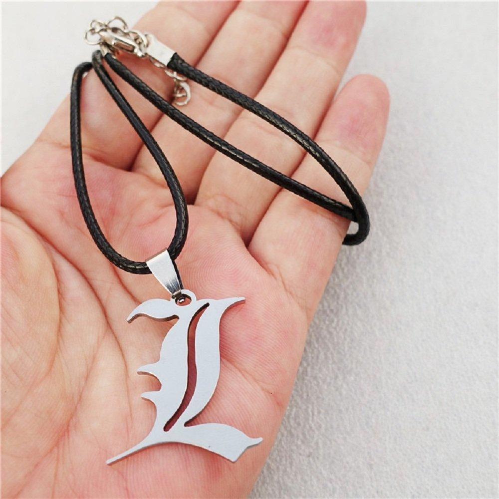 Geschenk Kira Idee Halskette L Death Note Cosplay Elle