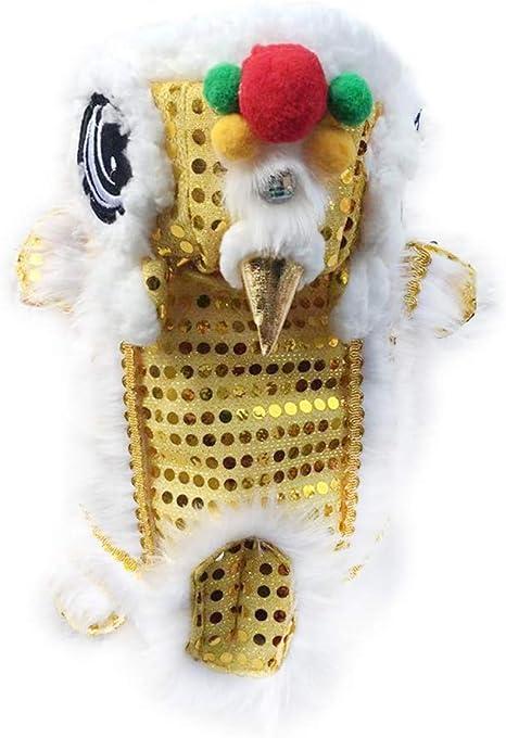 Wellucky - Disfraz de dragón para Perro de Danza de león, Talla ...