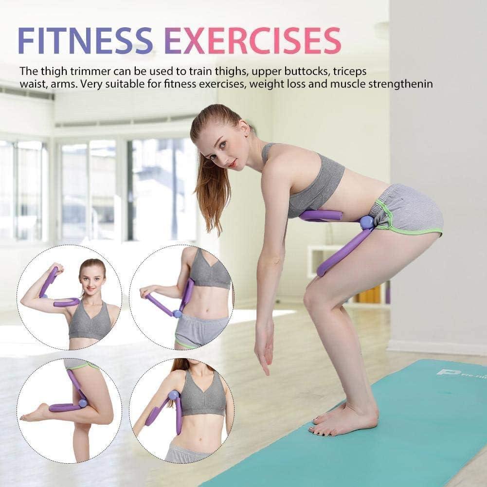 Thigh Master Exercise Equipment for Waist Thighs Arms Thigh Toner Leg Exerciser Hips T Thin Legs Gym Equipment for Women Men JIAMEI Thigh Training Equipment