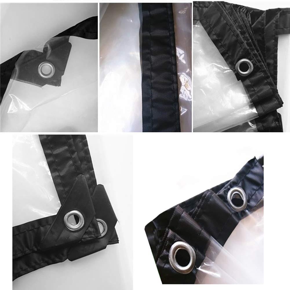 YL Home Película Plástica, Tela Plástica Transparente, Impermeable Tela Impermeable Transparente, Gruesa Impermeable, Tela Plástica Impermeable, Película Grande, Perforada A++ (Tamaño : 3x4m) c6074a