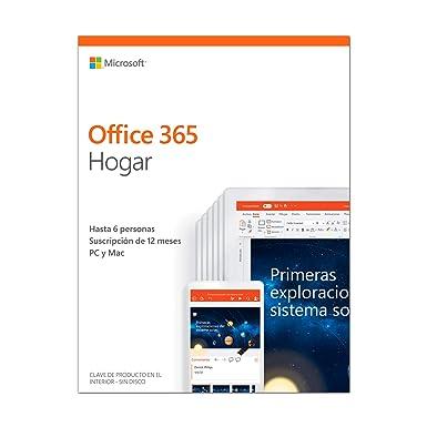 ba2cc8b0b Microsoft Office 365 Hogar - Software para PC y Mac