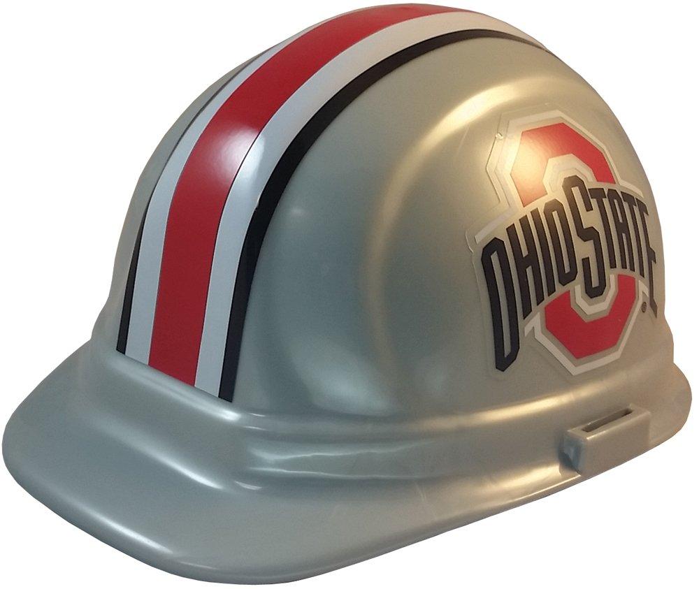 NCAA Ohio State Buckeyes Hard Hats with Ratchet Suspension