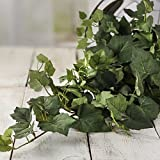 Factory Direct Craft® Voluminous Artificial Grape Leaf Bush for Home Decor, and Displaying