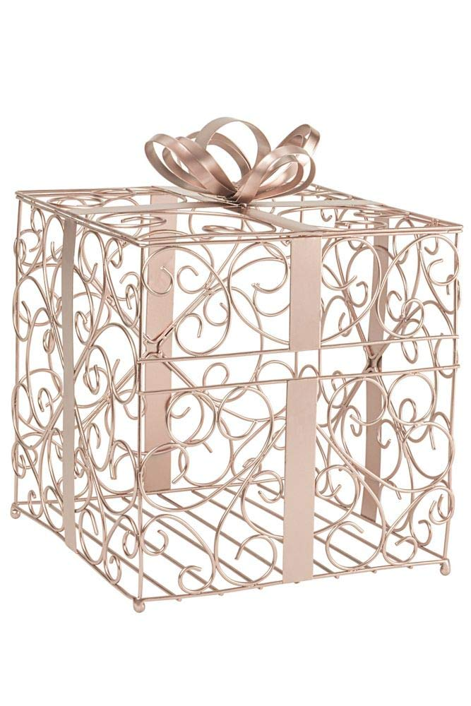 Reception Gift Card Holder Style 1943, Rose Gold