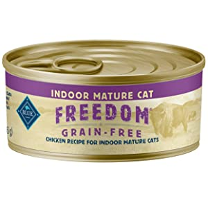 Blue Buffalo Freedom Indoor Mature Chicken Recipe Canned Cat Food