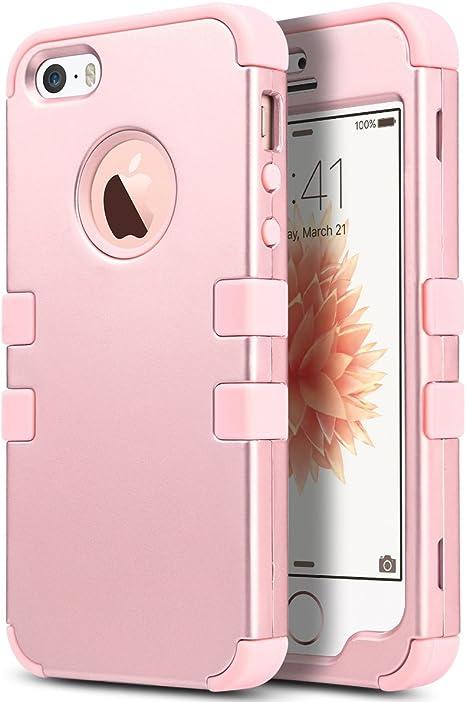 ULAK Cover iPhone 8 iPhone 8 Custodia Ibrida a Protezione