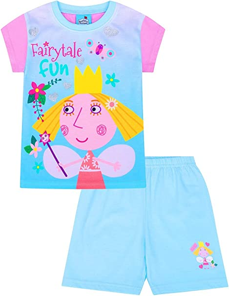 Magic Kingdom Ben and Holly Girls Little Kingdom Long Pyjamas Ages 2 to 7 Years w19