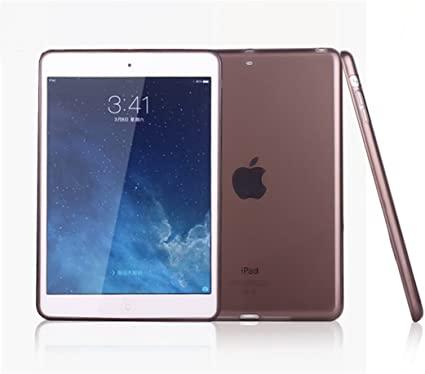Tempered for iPad 2 3 4 Air Mini Pro 9.7 2018 New Smart Clear Gel Case Cover