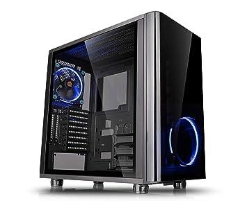 Thermaltake View 31 TG Midi-Tower - Caja de ordenador (PC, SPCC, Vidrio templado, ATX, Micro-ATX, Mini-ITX, Juego), Negro: Amazon.es: Informática