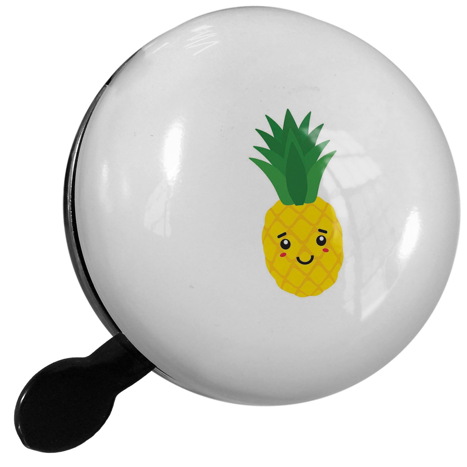 Small Bike Bell Pineapple Cute, Kawaii Food with Face Japanese - NEONBLOND