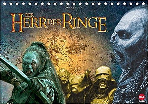Der Herr Der Ringe Orks Tischkalender 2016 Din A5 Quer 9783664600281 Amazon Com Books