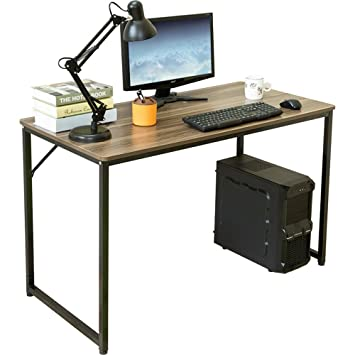 image modern home office desks. Dland Home Office Desk 47\u0026quot; Modern Simple Computer PC Laptop Table Writing Workstation, Image Desks