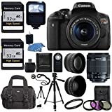 Canon EOS Rebel T6i DSLR CMOS Digital SLR Camera with EF-S 18-55mm f/3.5-5.6 IS KIT