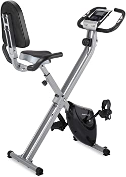 IDEER Folding Exercise Bike Foldable Magnetic Upright Exercise Bike