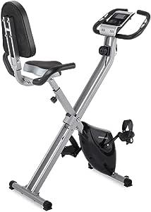 Bicicleta de Ejercicio magnética Plegable ideer con 8 Niveles ...