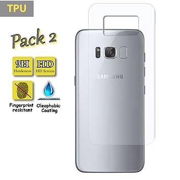 [Pack de 2] Funnytech@ Protector de Pantalla para Samsung Galaxy S8 Plus [
