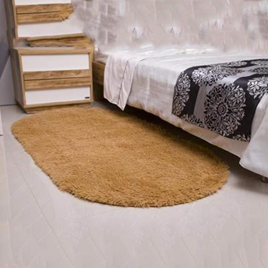 Alfombras Antideslizantes Alfombrilla para el Hogar RISTHY Alfombra Suave para el Dormitorio Alfombras Lisas y S/ólidas 40x60cm