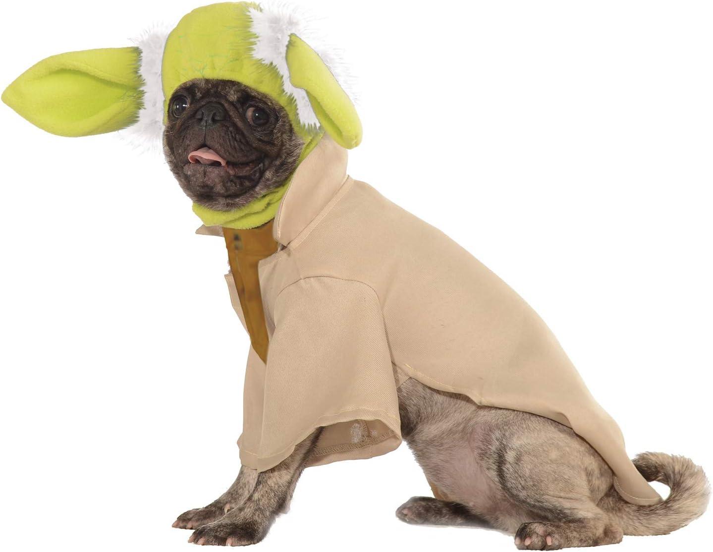 Star Wars - Disfraz de Maestro Yoda para mascota Talla M perro ...