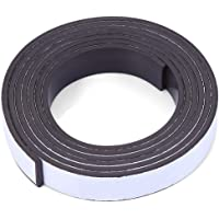 10 X 1.5mm 1m Magnetic Tape Self-adhesive Strong Adhesive Magnet Strip Flexible Rubber