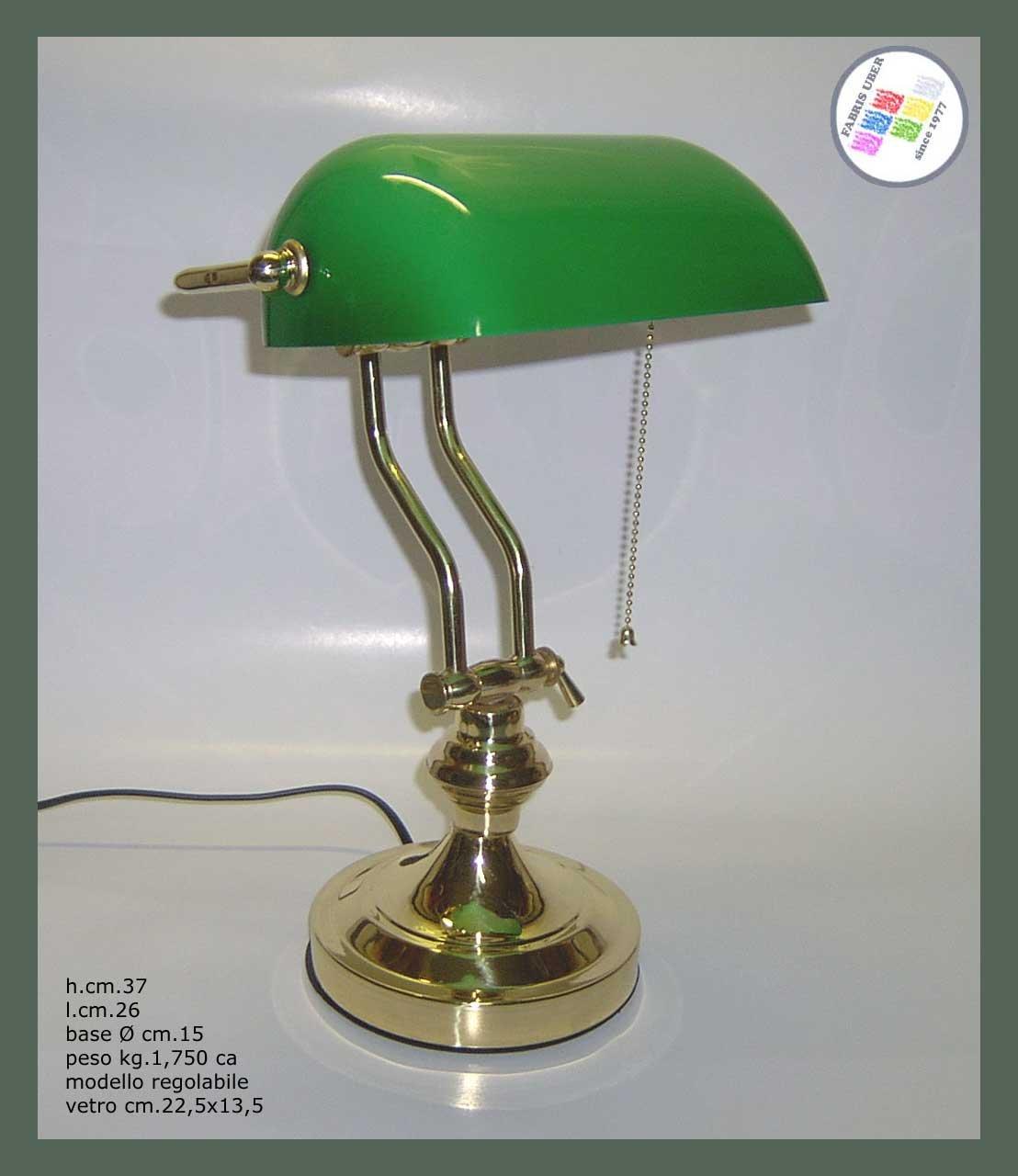 Lámpara de escritorio mesa de escribir modelo Inglés Curchill ...