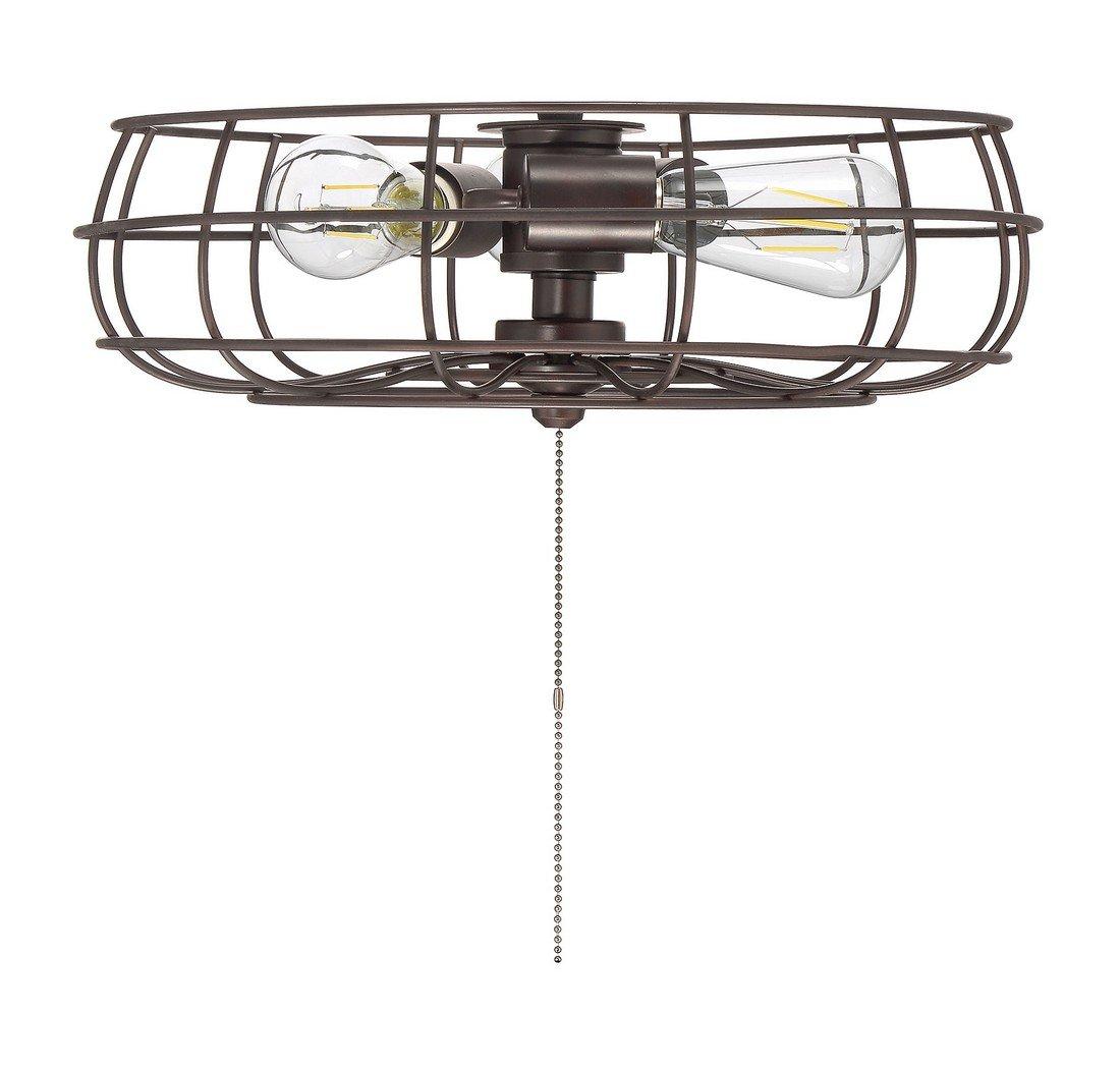Savoy House Ratcliffe 15.75'' 3-Light Fan Light Kit in English Bronze