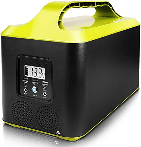 2020 New Portable Power Station 1000W.1002Wh Solar Generator with 110V AC Outlet DC Ports USB Ports Type-C,Backup Battery Pack Power for CPAP Outdoor Advanture Load Trip Camping Emergency battier2