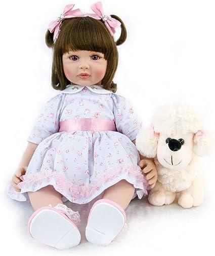 "18/"" Baby Reborn Doll Handmade Lifelike Kids Toys Girls Princess American Dolls"