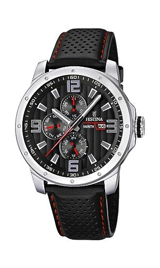 336f17736f88 Festina F16585 8 Chrono Bike 2012 - Reloj analógico de cuarzo para hombre