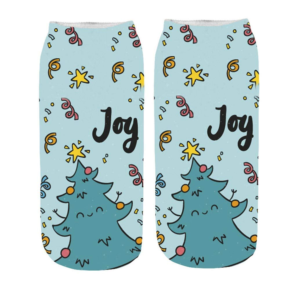 Weihnachten Funny.Socken Damen 3d Drucken Socken Cartoon Funny Cute Erstaunliche