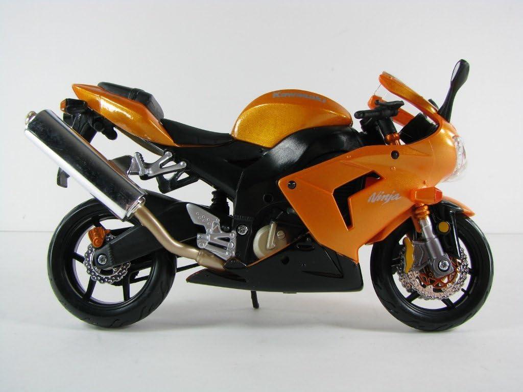 Maisto 1//12 Kawasaki Ninja ZX-10R Orange Black