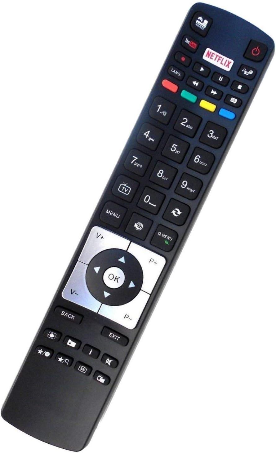 Ersatz Fernbedienung für Telefunken TVXF49A300XF65A300XH24D401V