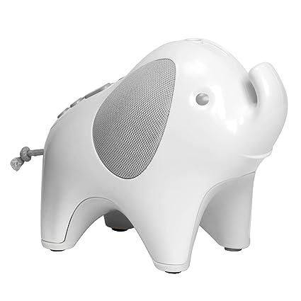 Amazon.com: Skip Hop Máquina de sonido para bebé: luz de luna y melodías chupete de noche, elefante: Baby